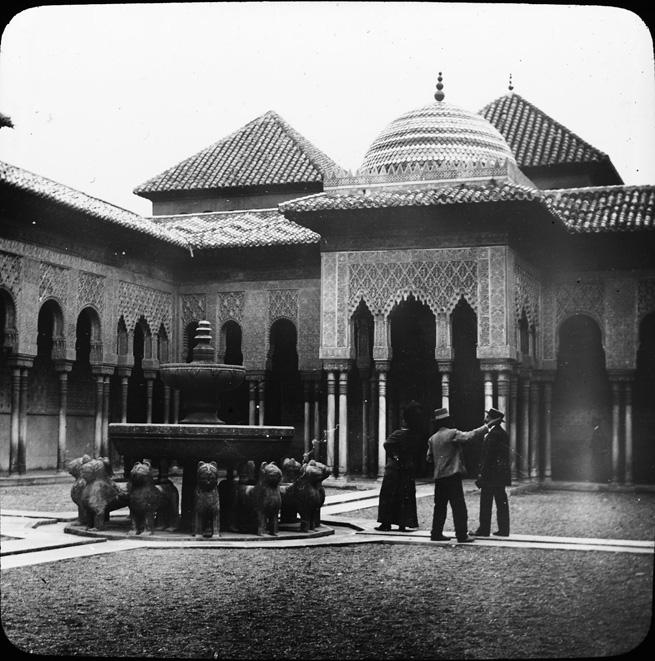 Alhambra-patio-lions-andalousie