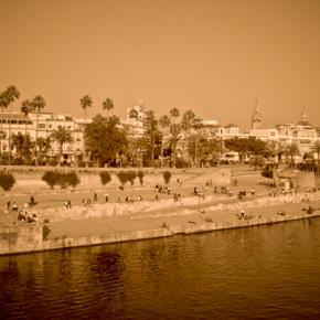 Séville vue du Guadalquivir