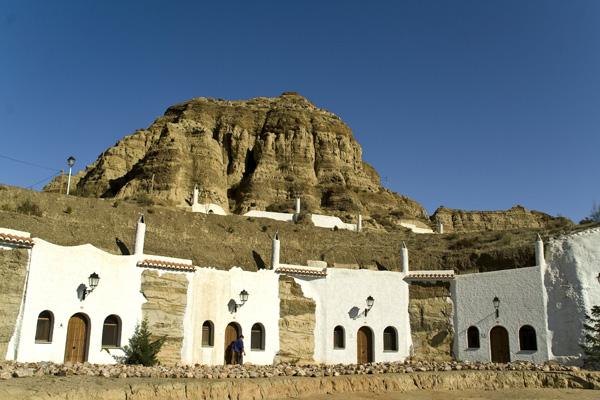 La Cueva, logement troglodyte, typique de Guadix