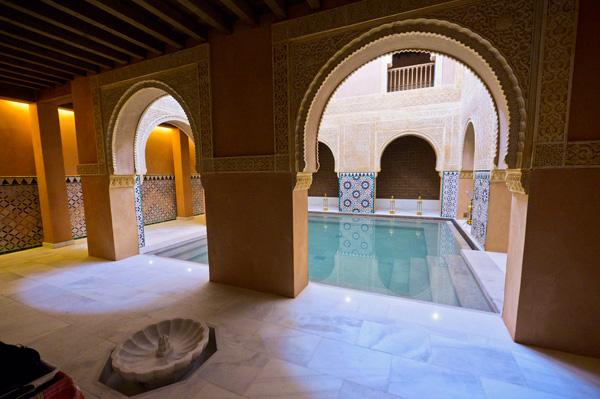 Bain tempérée - Hammam de Malaga