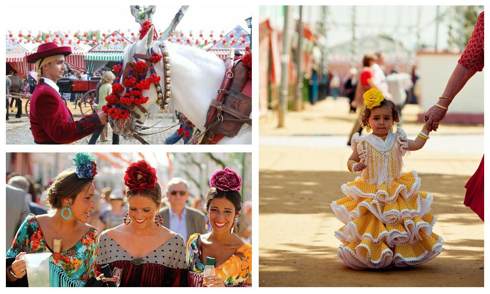 Les costumes traditionnels - Séville
